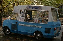 Ice cream van in the UK