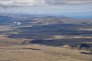 Southern Peninsula (Iceland) - The Reykjanes volcanic system is almost completely covered by Holocene-age lava fields.