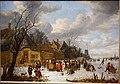Icy pleasures by Adriaen Lievensz. van der Poel, Leiden, 1652, oil on canvas, view 1 - Hessisches Landesmuseum Darmstadt - Darmstadt, Germany - DSC01152.jpg