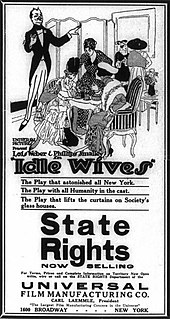 <i>Idle Wives</i> 1916 film by Lois Weber, Phillips Smalley
