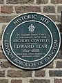 In Elizabethan times a favourite spot for archery contests. Edward Lear 1812-1888 born and lived nearby in Bowman's Lodge.jpg
