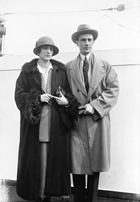 Felix und Irina Jussupov im Exil.
