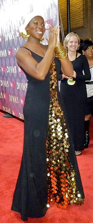 English: India.Arie on the Red Carpet at Vh1 D...