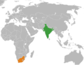 India South Africa Locator.png