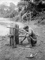 Indian gillrar en fälla för smärre smådjur. Erh, Från Erland Nordenskiöld 1928 - SMVK - 004009.tif