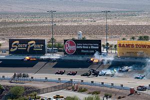 IZOD IndyCar World Championships - The fiery crash in the 2011 race that killed Dan Wheldon