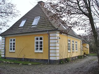 Ingstrup Village in North Jutland, Denmark