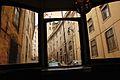 Inside a Lisbon tram (5581983806).jpg