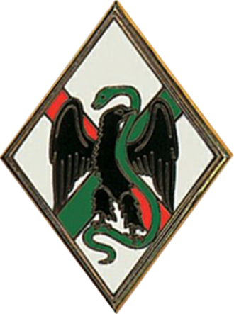 1st Foreign Regiment - Regimental badge of 1er RE