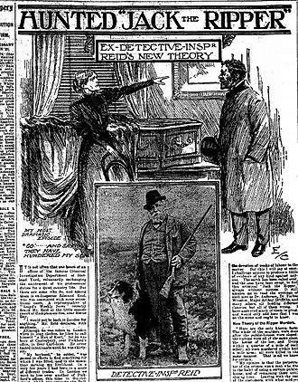 Edmund Reid - Image: Inspector Edmund Reid