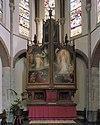 interieur, koor, overzicht hoofdaltaar van h. van der geld - cuijk - 20341914 - rce