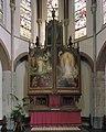 Interieur, koor, overzicht hoofdaltaar van H. van der Geld - Cuijk - 20341914 - RCE.jpg