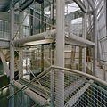 Interieur, liftkoker, vanuit het trappenhuis, in de nieuwbouw - Middelburg - 20374465 - RCE.jpg