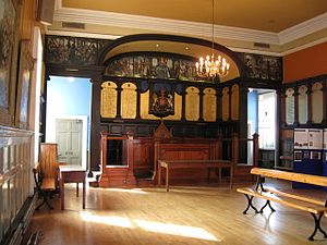 Bridport Town Hall - Interior