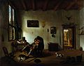 Interior of a Netherlandisch house with a dental operator Wellcome L0019858.jpg