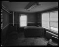 Interior of second floor corner office with desk. - J.C. Lore Oyster House, 14430 Solomons Island Road, Solomons, Calvert County, MD HAER MD-139-21.tif