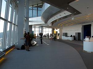 Sky100 - Interior of Sky100 observation deck