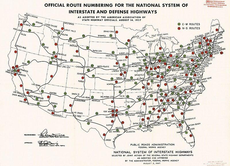 File:Interstate Highway plan August 14, 1957.jpg