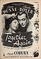 Irene Dunne & Charles Boyer in 'Together Again', 1944.jpg
