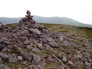 Sugarloaf Hill (Knockmealdowns) - Summit cairn of Sugarloaf Hill