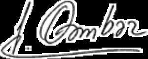Isa Gambar - Image: Isa Gambar signature