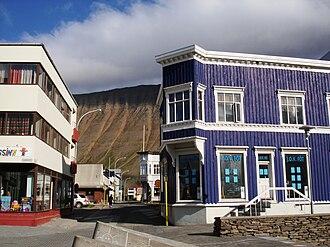 Ísafjörður - Town centre