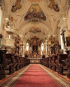 Ischgl church interior from below 2.jpg