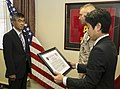 Ishikawa police chief retires, receives Certificate of Commendation from Marine Corps 150312-M-XW268-002.jpg