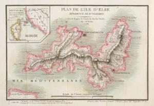 Principality of Elba - Island of Elba, 1814