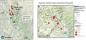 October 2016 Central Italy earthquakes - Image: Italy earthquakes second damaging shock rips north from amatrice 3