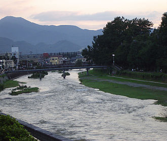 Kitakami River - The Kitakami River in Morioka