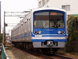 Izuhakone Railway - Izuhakone Railway 5000 Series train
