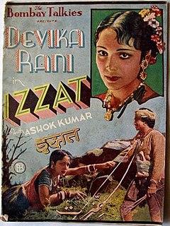 <i>Izzat</i> (1937 film) 1937 film directed by Franz Osten