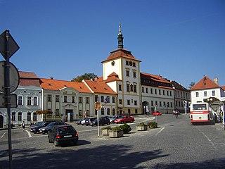 Jílové u Prahy Town in Central Bohemian, Czech Republic