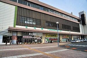 Furukawa Station - Image: JRE Furukawa Station