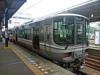 JRW 223-5000 Marine Liner at Sakaide Station 20130609 (9016619935).jpg
