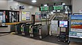 JR Hakodate-Main-Line・Sassho-Line Soen Station West Gates.jpg