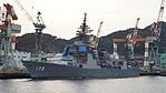 JS Ashigara(DDG-178) left front view at Mitsubishi Heavy Industries Nagasaki Shipyard November 25, 2017 02.jpg