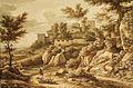 J C Reinhart - Klassische Landschaft mit Hirten (1828).jpg