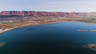 Kanab, Utah - The Jackson Flat Reservoir