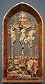 Jacopo della quercia (cerchia), crocifissione, da s.m. in monteluce a perugia, siena 1420 ca. 01.jpg