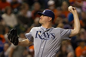 Jake McGee - McGee with the Rays in 2012