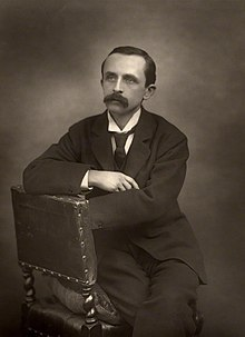J. M. Barrie by Herbert Rose Barraud, 1892