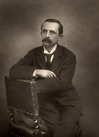 J. M. Barrie, 1890