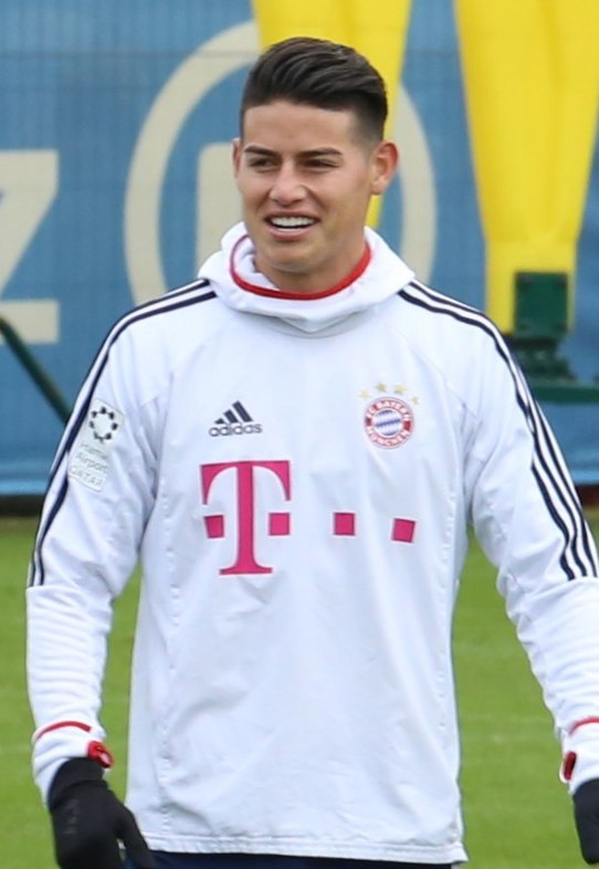 James Training 2018-01-28 FC Bayern Muenchen-4 (cropped)