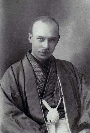 Jan Letzel - Jan Letzel in kimono in Japan