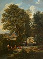 Jan Frans van Bloemen (1662-1749) - A Classical Landscape with Ladies Bathing near a Fountain - 266915 - National Trust.jpg