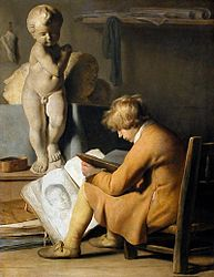 Jan Lievens: Young Boy in a Studio