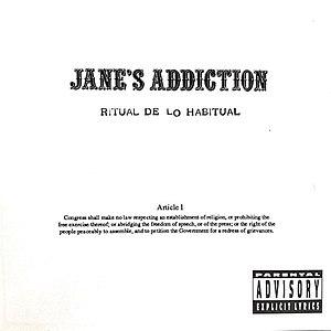 Ritual de lo habitual - Image: Jane's Addiction Ritual de lo Habitual (clean cover)