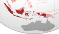 Japanese Dutch East Indies, Furthest Extent.png